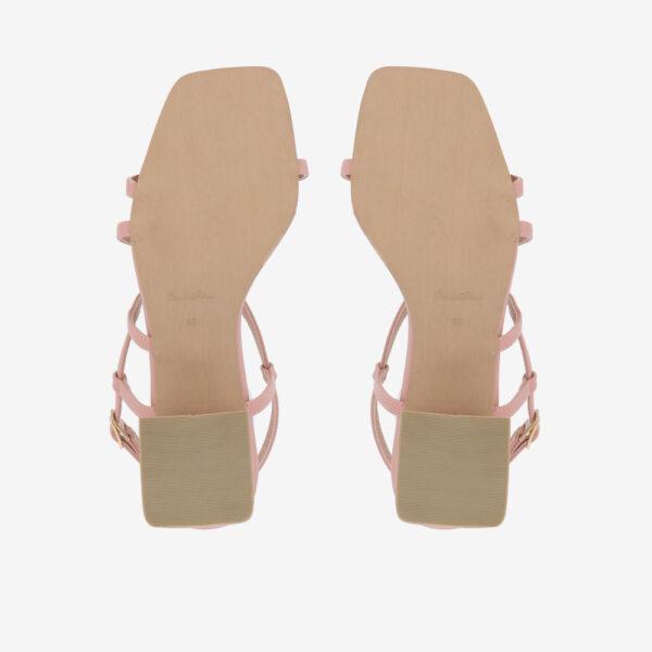 "carlorino shoe 33340 J003 24 5 - 2"" Summer Sidekick Block Heels"