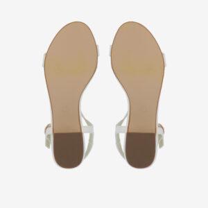 """carlorino shoe 33340 J005 01 5 - 1.5"""" Over The Top T-Bar Heels"""