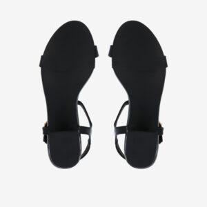 """carlorino shoe 33340 J005 08 5 - 1.5"""" Over The Top T-Bar Heels"""