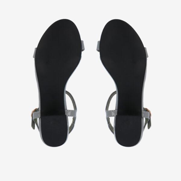 """carlorino shoe 33340 J005 28 5 - 1.5"""" Over The Top T-Bar Heels"""