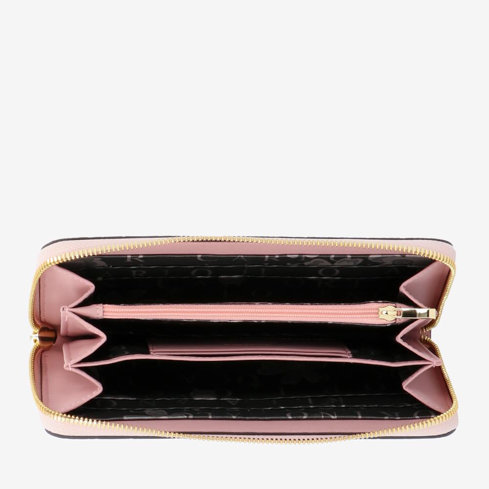 carlorino wallet 0305050J 502 24 4 - Fashion Forward Zip-around Wallet