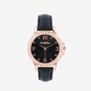 carlorino watch A93302 J009 08 1 - Gift Of Time Leather Strap Timepiece
