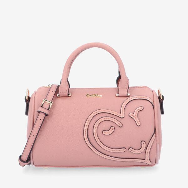 carlorino bag 0305043J 002 54 1 600x600 - Hearts In Motion Top Handle