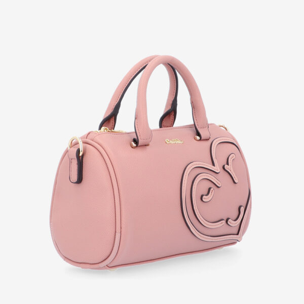 carlorino bag 0305043J 002 54 3 600x600 - Hearts In Motion Top Handle