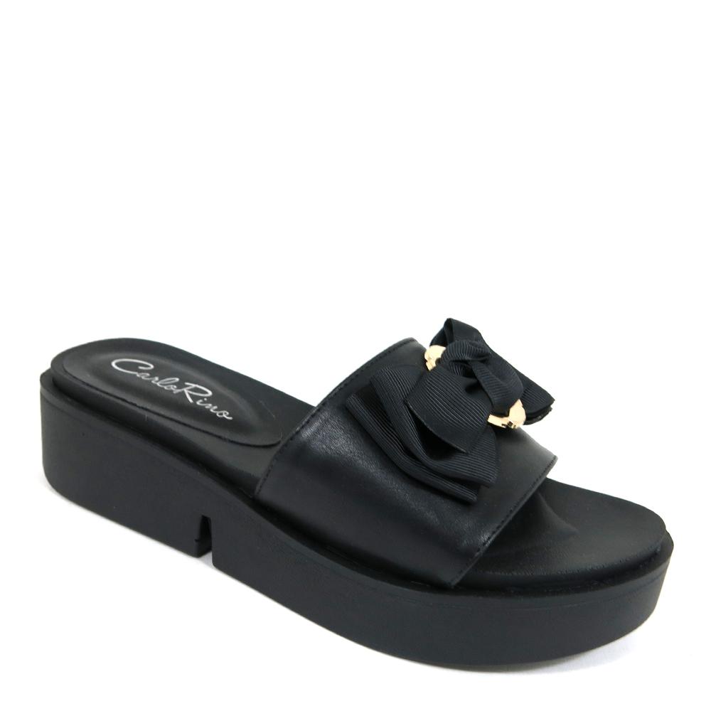 "carlorino shoe 33370 D001 08 1 - 1/2"" Ribbon Princess Slip-On"