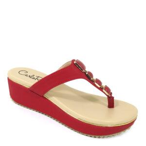 """carlorino shoe 33370 D012 04 1 300x300 - 2"""" Golden T-bar Enhancer sandal"""