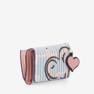 carlorino wallet 0305043J 503 54 3 - Hearts In Motion 3-fold Wallet