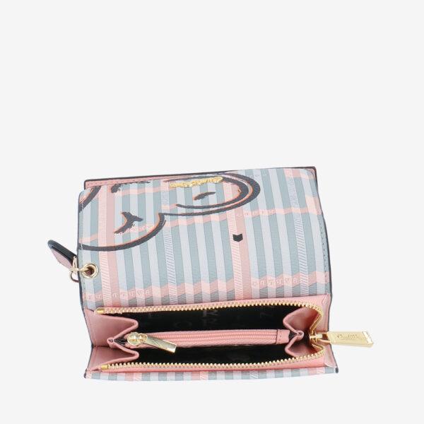 carlorino wallet 0305043J 503 54 6 - Hearts In Motion 3-fold Wallet