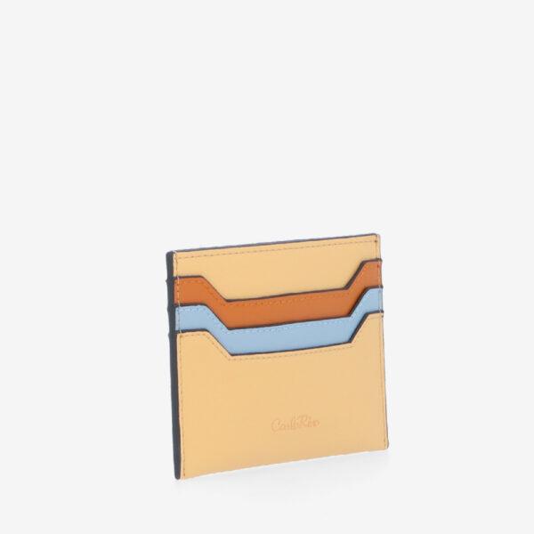 carlorino wallet 0305117J 701 07 3 - Hues For Yous Horizontal Card Holder
