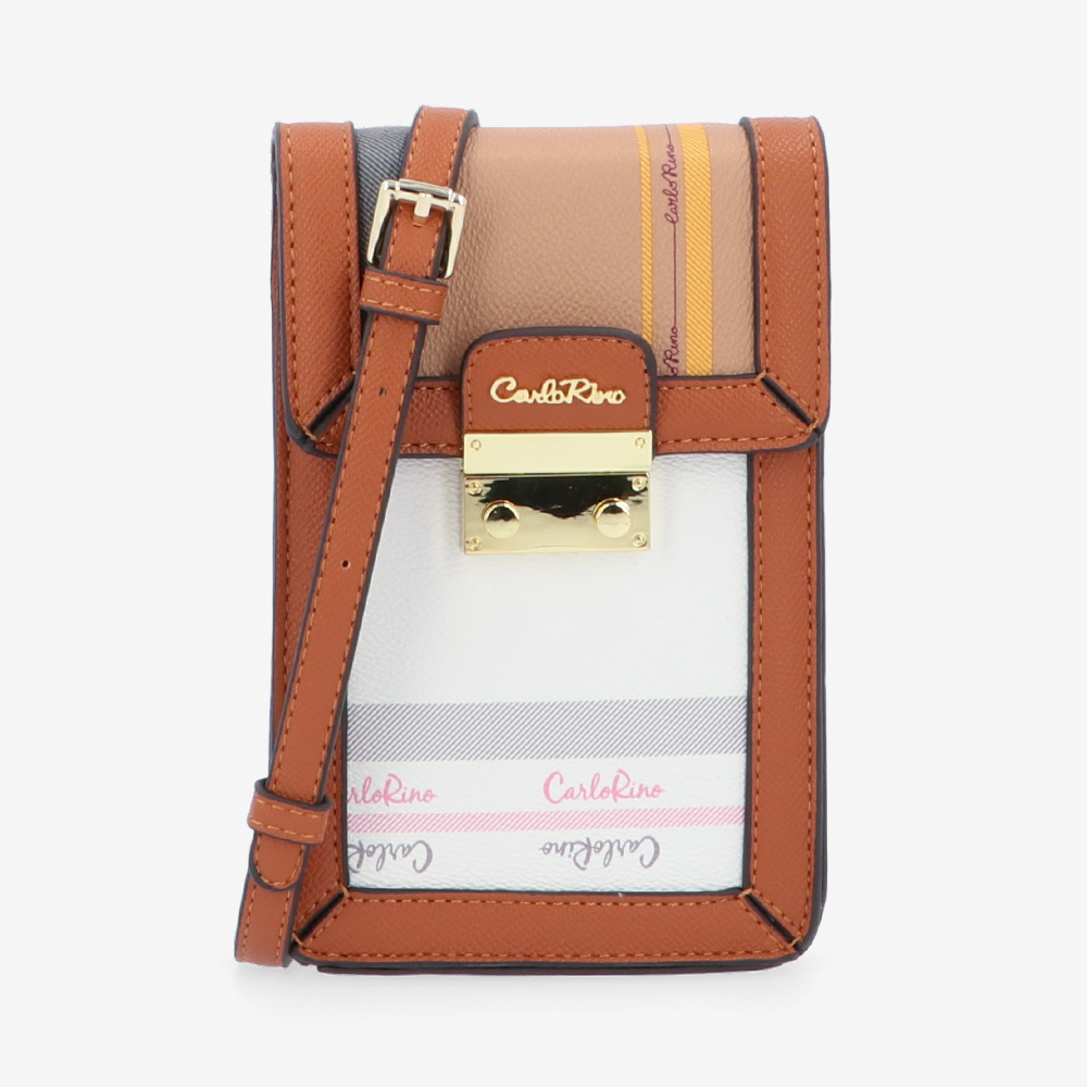 carlorino bag 0305062J 701 05 1 - Mix of Favourites Vertical Cross Body
