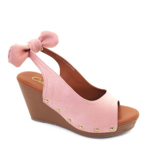 carlorino shoe 33300 E001 24 1 300x300 - 3.5'' Little Bow with Straps Platform Wedges