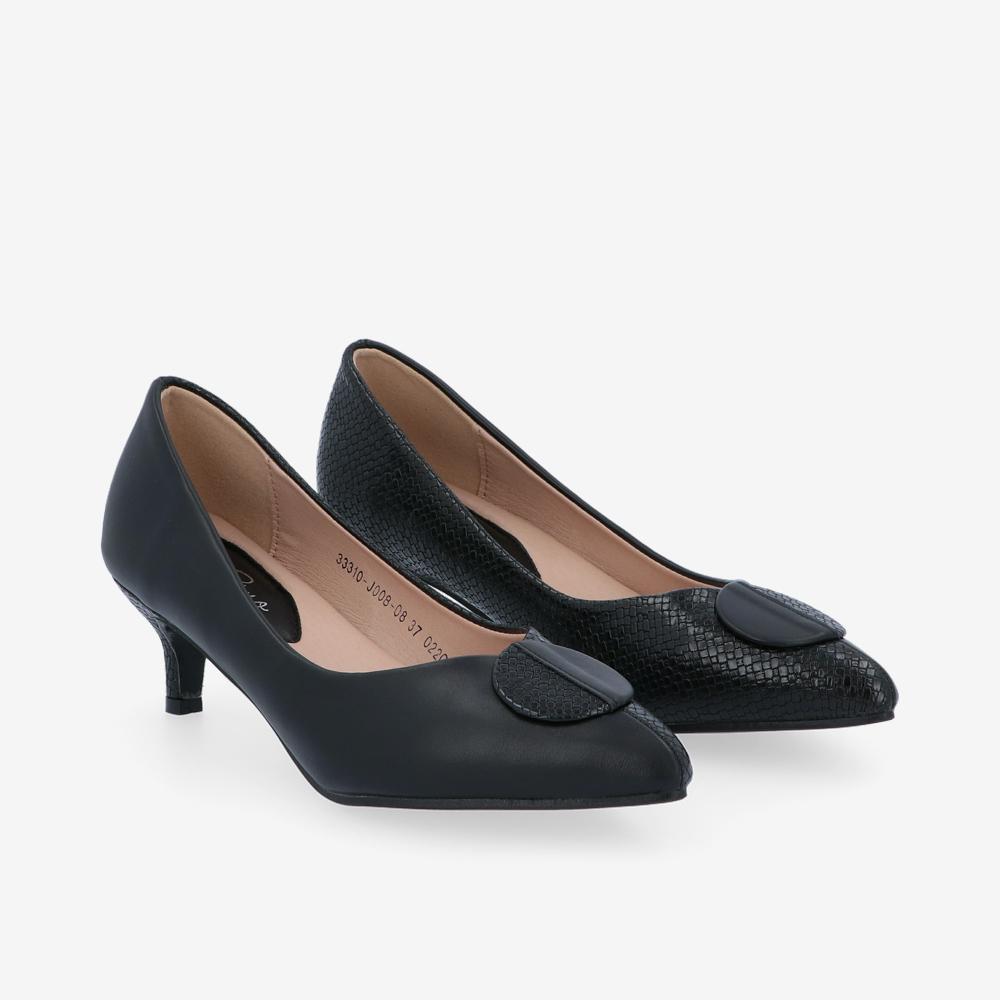 "carlorino shoe 33310 J008 08 1 - 2""Dainty Pointed Toe Pump"