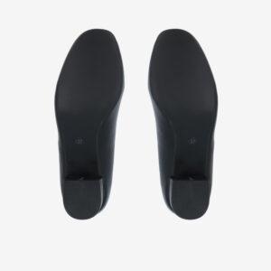 "carlorino shoe 33310 J009 08 5 - 1 1/2"" Button Top Round Toe Pump"