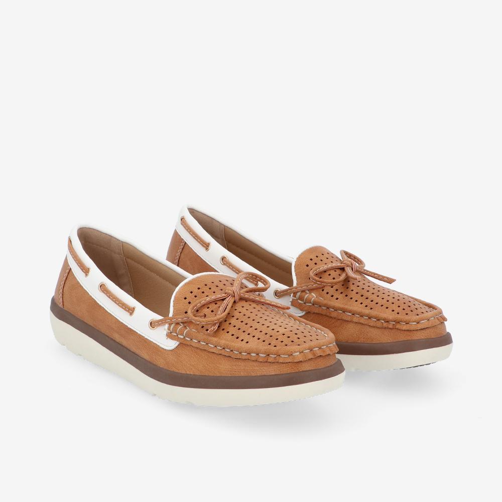 carlorino shoe 33330 J008 05 1 - Duo Colour Ribbon Flat