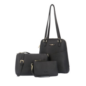 carlorino bag 0303355 017 08 7 - Smooth Carrier 3-in-1 Tote Set