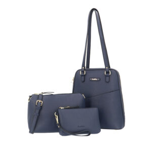 carlorino bag 0303355 017 13 7 - Smooth Carrier 3-in-1 Tote Set
