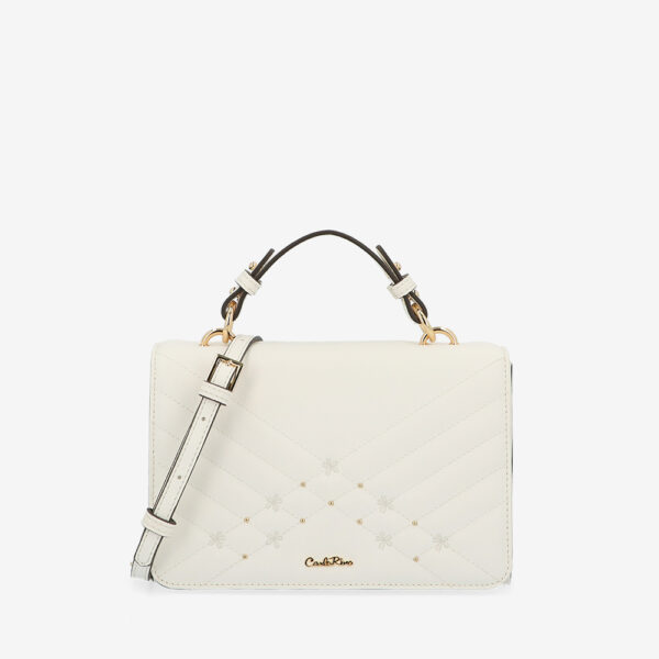 carlorino bag 0305058K 002 01 1 600x600 - Medallion Top Handle Bag