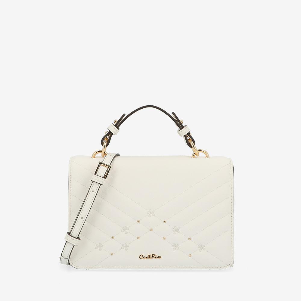 carlorino bag 0305058K 002 01 1 - Medallion Top Handle Bag