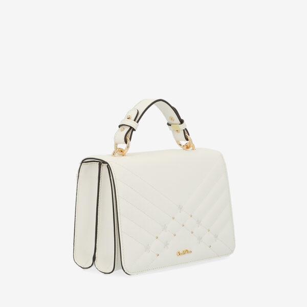 carlorino bag 0305058K 002 01 3 600x600 - Medallion Top Handle Bag
