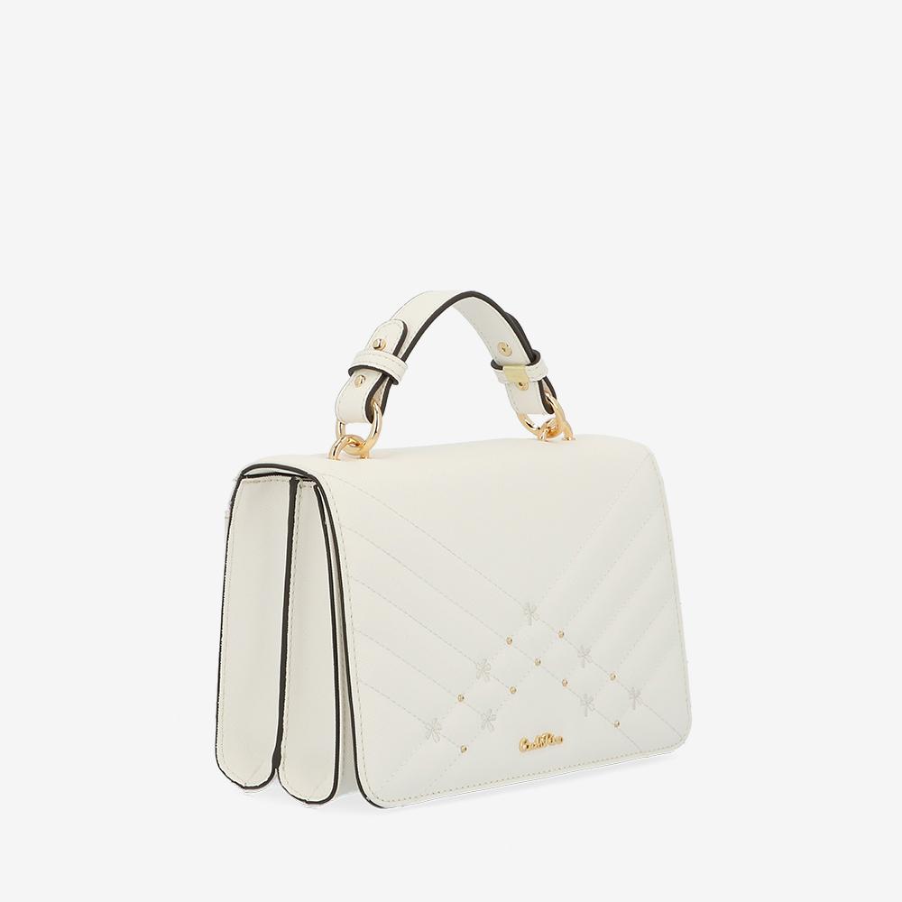 carlorino bag 0305058K 002 01 3 - Medallion Top Handle Bag