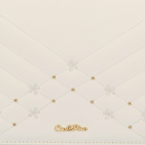 carlorino bag 0305058K 002 01 5 600x600 - Medallion Top Handle Bag