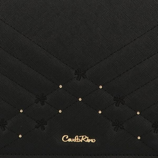 carlorino bag 0305058K 002 08 5 600x600 - Medallion Top Handle Bag