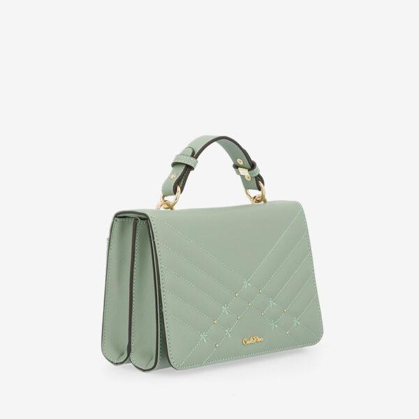 carlorino bag 0305058K 002 26 3 600x600 - Medallion Top Handle Bag