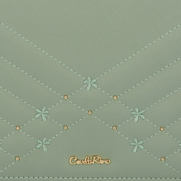 carlorino bag 0305058K 002 26 5 600x600 - Medallion Top Handle Bag