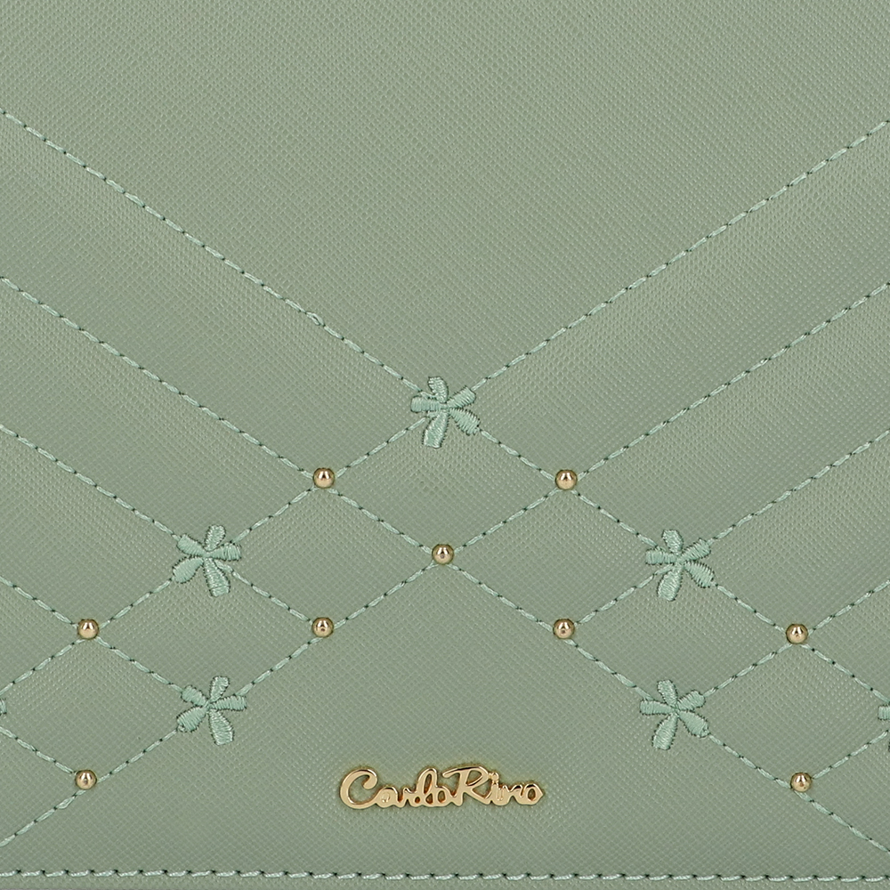 carlorino bag 0305058K 002 26 5 - Medallion Top Handle Bag