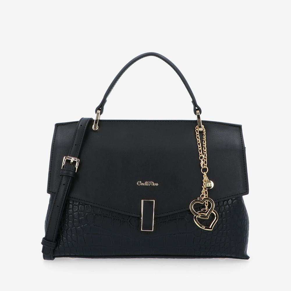 carlorino bag 0305096J 003 08 1 - Make Me Beautiful Elongated Top Handle
