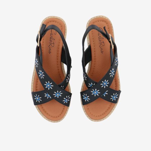 "carlorino shoe 33300 J002 00 3 - 2.5"" What A Relief Platform Sandals"