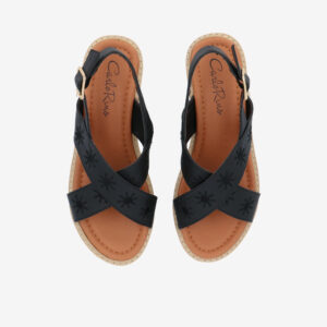 "carlorino shoe 33300 J002 08 3 - 2.5"" What A Relief Platform Sandals"