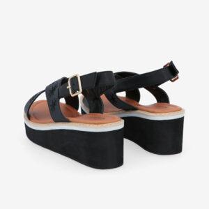 "carlorino shoe 33300 J002 08 4 - 2.5"" What A Relief Platform Sandals"