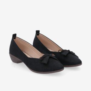 carlorino shoe 33310 J011 08 1 300x300 - Artisinal Bow Low Heel Ballerina Pumps