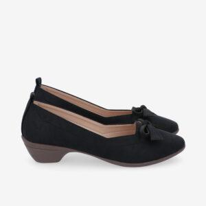 carlorino shoe 33310 J011 08 2 300x300 - Artisinal Bow Low Heel Ballerina Pumps