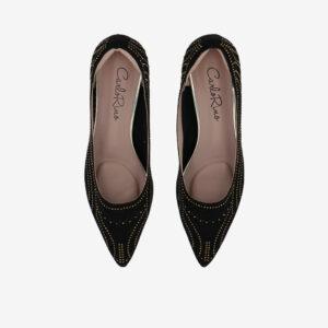 "carlorino shoe 33310 K005 08 3 - Splendour Grandeur 1 1/2"" Pointed Toe Pump"