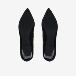 "carlorino shoe 33310 K005 08 5 - Splendour Grandeur 1 1/2"" Pointed Toe Pump"
