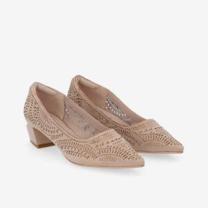 "carlorino shoe 33310 K005 31 1 - Splendour Grandeur 1 1/2"" Pointed Toe Pump"