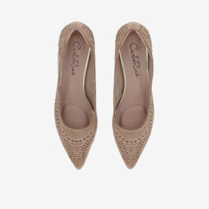 "carlorino shoe 33310 K005 31 3 - Splendour Grandeur 1 1/2"" Pointed Toe Pump"
