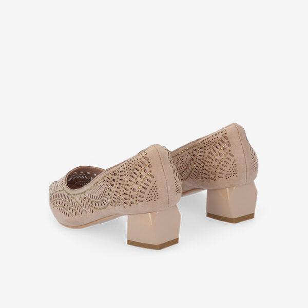 "carlorino shoe 33310 K005 31 4 - Splendour Grandeur 1 1/2"" Pointed Toe Pump"