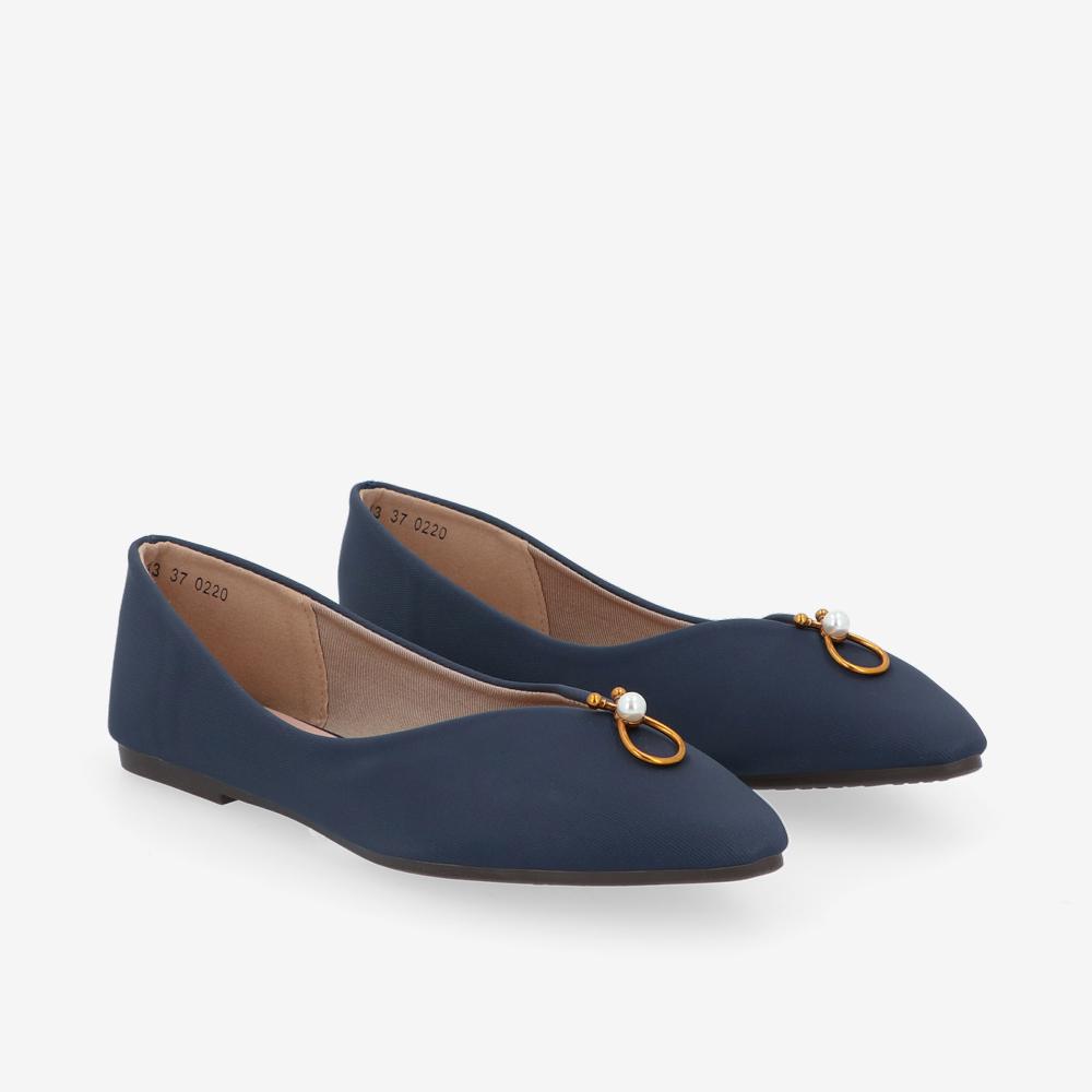 carlorino shoe 33320 J011 13 1 - Pearl Paradise Ballerina Flats