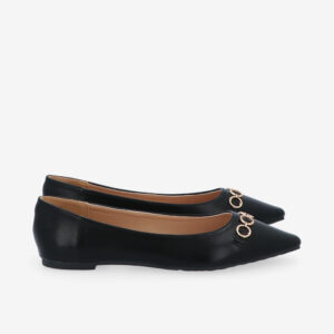 carlorino shoe 33320 J012 08 2 300x300 - City Sparkle Pointed Toe Ballerina Flats