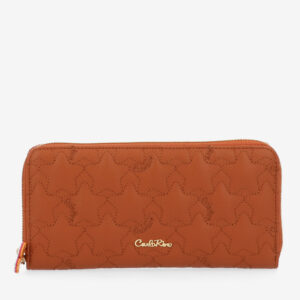 carlorino wallet 0305051J 501 05 1 - City of Stars Zip-around long wallet