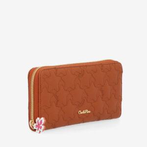 carlorino wallet 0305051J 501 05 3 - City of Stars Zip-around long wallet