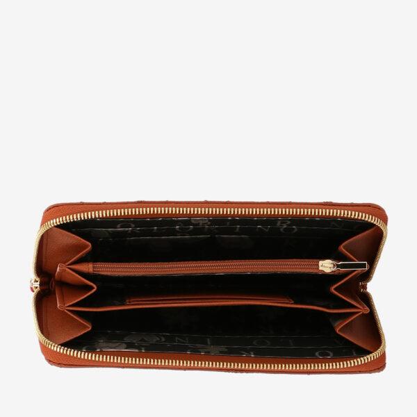 carlorino wallet 0305051J 501 05 4 - City of Stars Zip-around long wallet