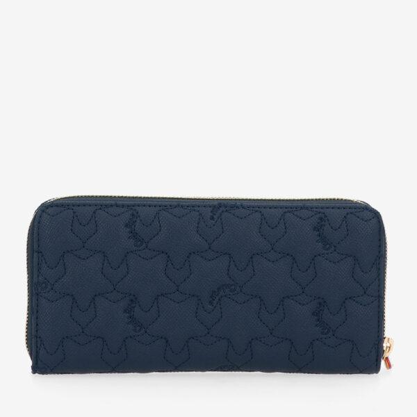 carlorino wallet 0305051J 501 13 2 - City of Stars Zip-around long wallet