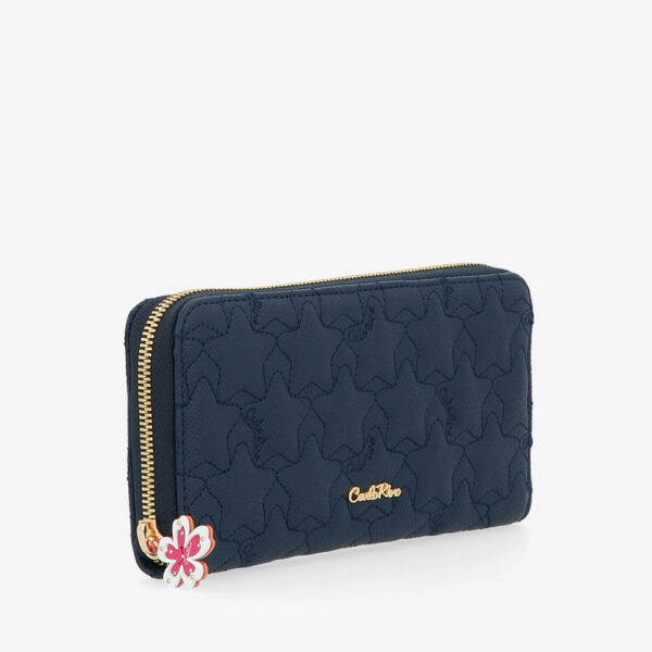 carlorino wallet 0305051J 501 13 3 - City of Stars Zip-around long wallet