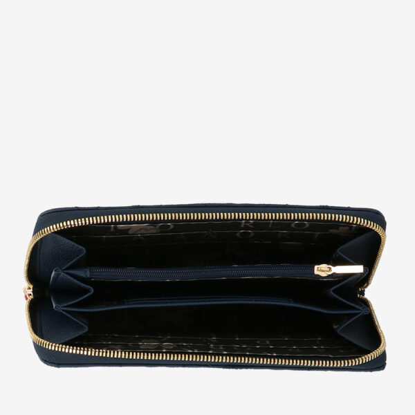 carlorino wallet 0305051J 501 13 4 - City of Stars Zip-around long wallet