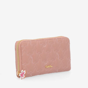 carlorino wallet 0305051J 501 24 3 - City of Stars Zip-around long wallet