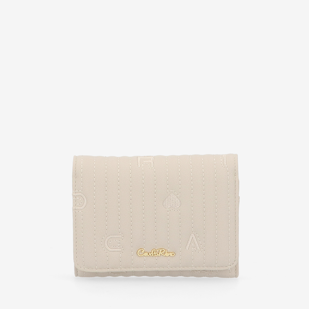 carlorino wallet 0305060K 501 21 1 - Milky Way 2-fold Short Wallet